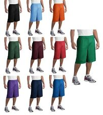 "Sport-Tek 11"" Long Dri-Fit Mesh Shorts Soccer Running Basketball S-3XL 4XL ST511"