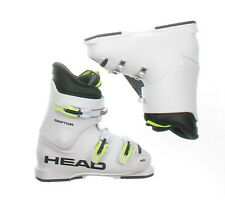 New Head Junior Raptor 40 White Ski Boots Kid's Size