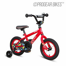 "New Progear Bicycle 12"" Boys Shockwave BMX Bike"