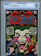 Detective Comics #388 Batman DC Comics CBCS Graded 8.5 1969 Great Joker Cover