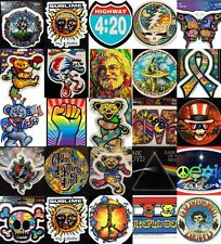 *Rock n Roll Stickers Grateful Dead Sublime Pink Floyd Allman Brothers Hippie