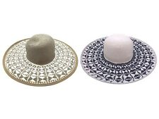 Womens Wide Brim Floppy Summer Hat Crushable Packable Beach Sun Hat One Size