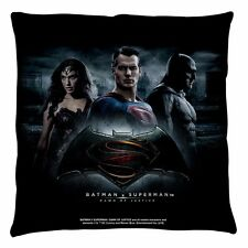 Batman Vs Superman Justice Officially Licensed Decorative Throw Pillow Bed Couch