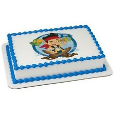 Jake & the Neverland Pirates Frosting Sheet Cake Topper ~ Edible Image ~ D42528