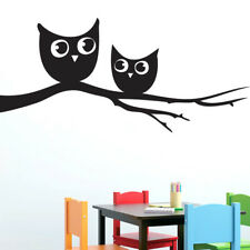Sweetums Wall Decals Owls on a Branch Wall Decal