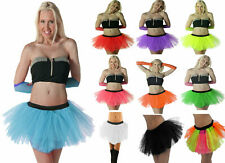 Ladies Girls Neon tutu skirts 1980's party dancewear hen night fancy dress Plus