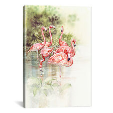 iCanvas 'Flamingo Bird' by Tim Knepp Painting Print on Canvas