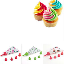 Pastry Icing Piping Bag Nozzle Tips Fondant Cake SugarCraft Tools High Quality