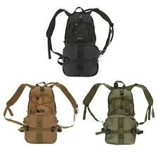 2.5L/3L Tactical Outdoor Hydration Water Backpack Bag W Bladder Climbing BB U8E6