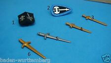 Playmobil knights series special 4666 Sword shield Axe CHOOSE ONE toy 126