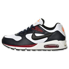 New Nike Men's Air Max Correlate Shoes (511416-101)  White/Obsidian/Red/Black