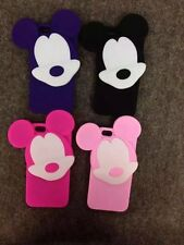 Mickey Head Phone Case For Apple iphone Smartphone Soft Rubber Cover Skin Shell
