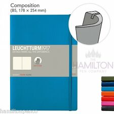 LEUCHTTURM 1917 COMPOSITION B5 SOFTCOVER NOTEBOOK - new style notebook!