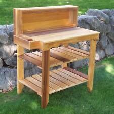 Wood Country Deluxe Potting Bench