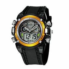 OHSEN Waterproof LED Digital Light Date Analog Sport Men's Quartz Wrist Watch