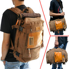 New Men backpack travelling bag women canvas laptop bag Messenger shoulder bag