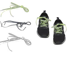 LACES Flat Sport Trainer Shoe Boot Fluorescent Reflective Laces 120cm L 0.8cm W