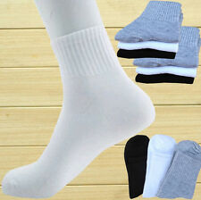 Men Women Lot 4/12 Pairs Ankle/Quarter Breathable Low Cut Casual Ankle Socks