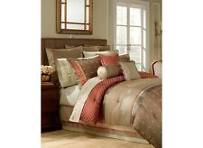 STUNNING Waterford Bogden King Bedding Set / 9 pcs / MSRP for all was $1400 /NEW