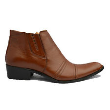 Mens Western Style Italian Pointed Party Cowboy Boots Sizes 6 7 8 9 10 11 12