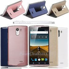"5"" 3G Unlocked 2SIM Cell Phone for AT&T Mobile Quad Core Android Smartphone 4GB"