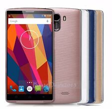 "5"" 3G Unlocked Cell Phone Quad Core Android 5.1 Smartphone 4GB Dual SIM GPS 5MP"