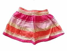 NWT Girls Gymboree Woodland Wonder peach purple elastic skirt 12-18 months 2T 4T