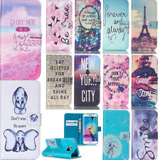 For Samsung S6Edge S5 Note3/4 iPhone PU Leather Stand Case Protective Cover Flip