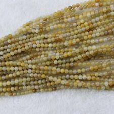 "4mm-12mm Topaz Beads Round Loose Gemstone Beads Strand 15"" Jewelry Making Beads"