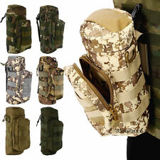Outdoor Tactical Gear Military Molle Water Bottle Bag Kettle Pouch + Mess Pouch