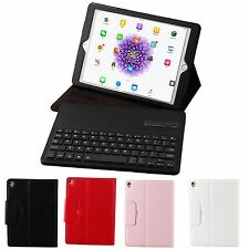 Wireless Bluetooth Keyboard + Folio Leather Case Cover For Apple iPad Pro 9.7""