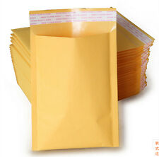 Popular Free shipping 6'' x 7'' SELF SEAL Kraft Bubble Mailers Padded Envelopes