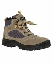 Lace Up Suede Steel Toe Cap Boots Ankle TPU/PU Oil Resistant Footwear Desert New