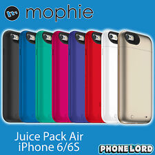 Genuine Mophie Juice Pack Air for iPhone 6 6S AND PLUS battery case recharge