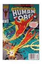 Saga of the Original Human Torch #2 (May 1990, Marvel)