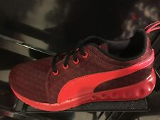Puma Carson Red Black Youth Sizes