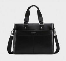 Men's Stylish Messenger Handbag Laptop Leather Bag Shoulder Briefcase Purse Bag