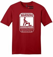 Warning Choking Hazard Funny Mens Soft T Shirt Adult Rude Humor Mean Sex Tee Z2