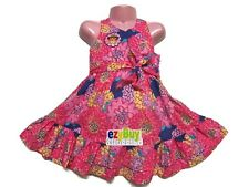 Dora The Explorer Pink Floral Summer Girls Dress