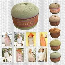 1/2 PRICE - SIRDAR JUICY DK BAMBOO COTTON DK KNITTING YARN & PATTERN COLLECTION