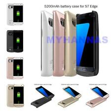 Samsung Galaxy S7/S7 Edge Extended Battery Power Backup Charger Juice Case NEW