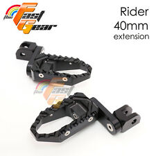 TFG Wide 40mm Riser Front Foot Pegs For Ducati 1098 S /R /EVO 07 08 09