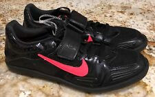 NEW Men 4 NIKE ZOOM RIVAL SD 3 Black Atomic Red Throwing Field Discus Shoes Kids