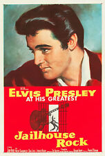 """JAILHOUSE ROCK"" ELVIS PRESLEY Retro Movie Poster A1A2A3A4Sizes"