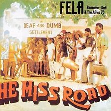 He Miss Road - Fela Kuti New & Sealed LP Free Shipping