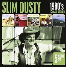 Classic Albums 1980's The-5 Album Set - Slim Dusty New & Sealed CD-JEWEL CASE Fr