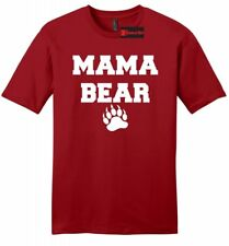 Mama Bear Cute Mens Soft T Shirt Mothers Day Gift Tee Mom Mommy Tee Z2