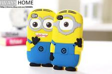 MINION DESPICABLE ME iPhone Case Iphone6s plus 4.7 5.5 5s/5/4s/4 Silicone Movie