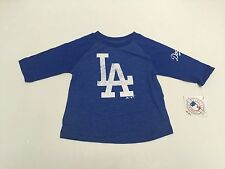 Los Angeles Dodgers Official Majestic MLB Genuine Merchandise Kids T Shirt New
