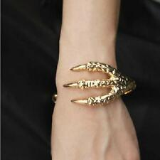 2 Colors Gothic Punk Retro Eagle Claw 4Talon Bangle Bracelet Clamp Cuff